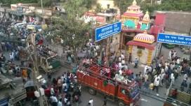 Navratri procession, Paharganj
